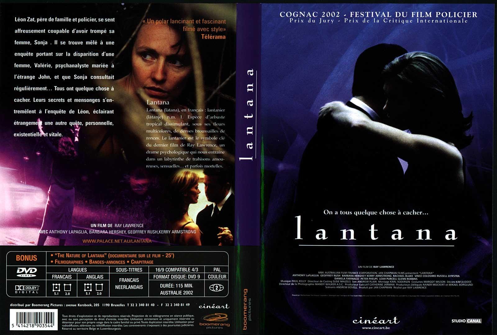 Jaquette DVD Lantana